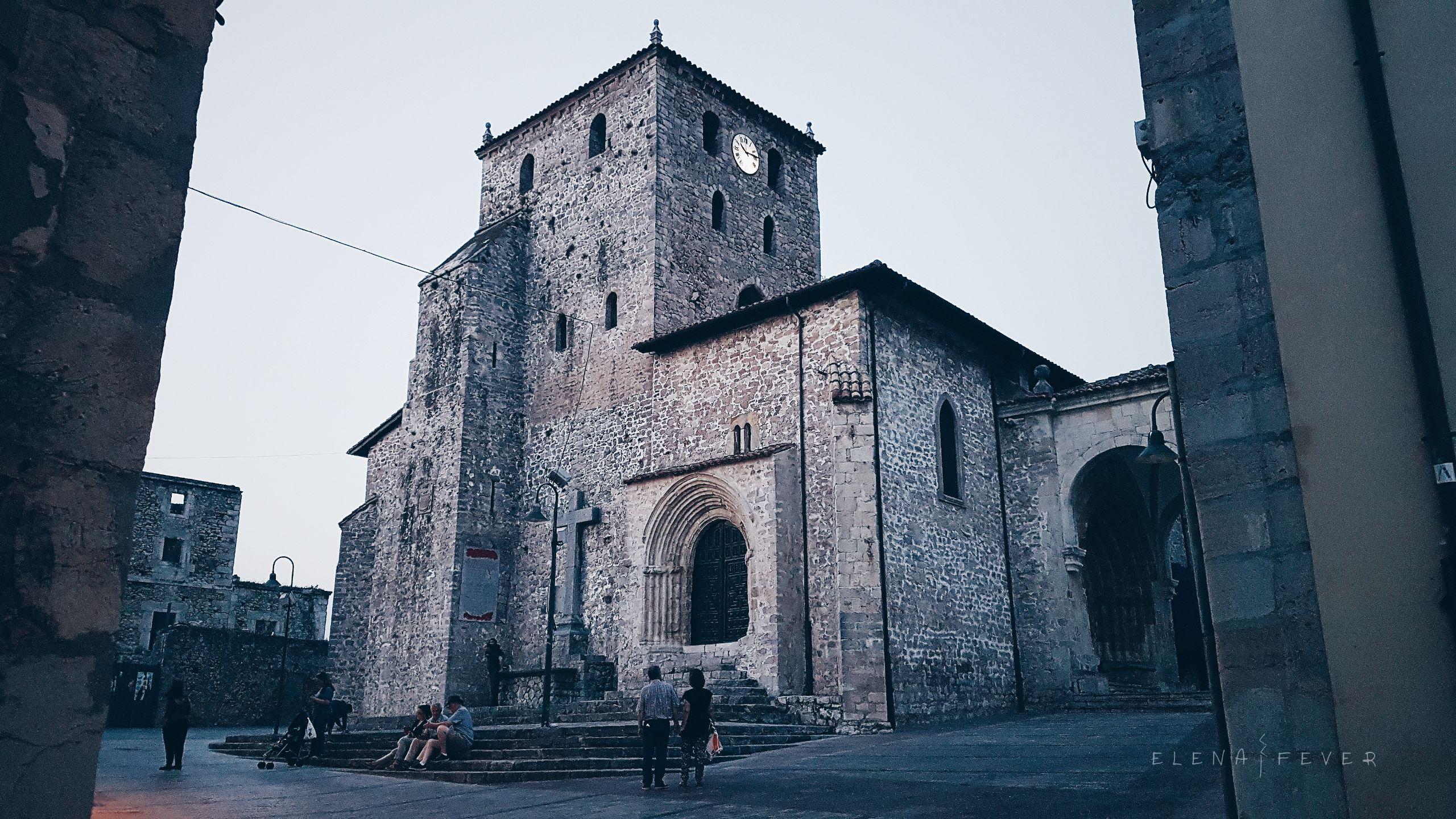 Foto iglesia Llanes Elena Fever